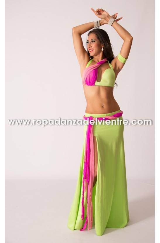 Costume simple danse orientale Morgan