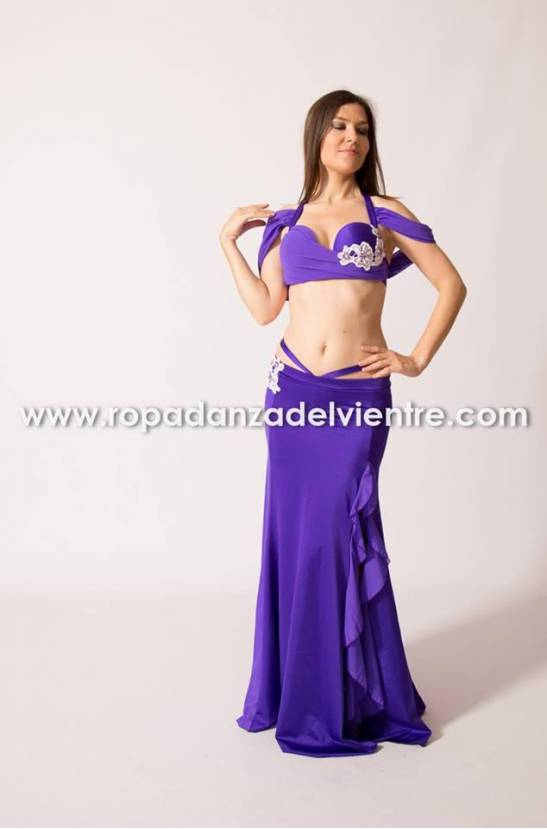 Costume simple danse orientale Basma