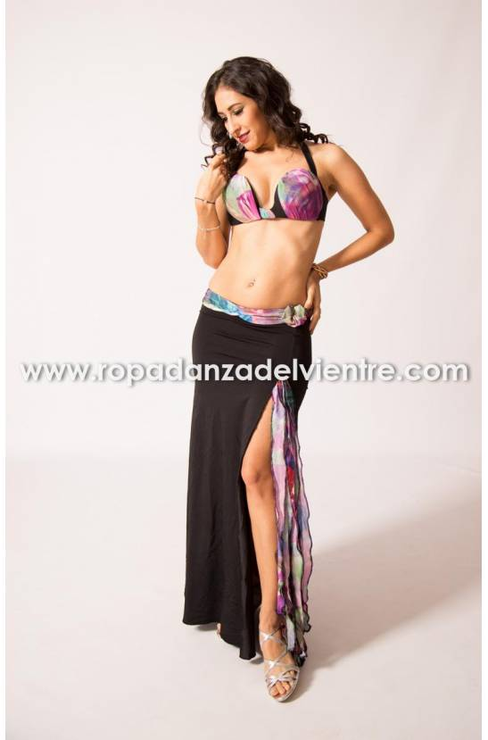 Costume simple danse orientale Leda