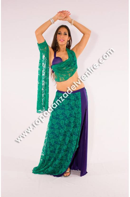 Costume simple danse orientale Tarana